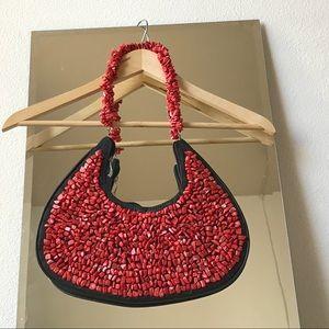 Coral Artisan Handbag